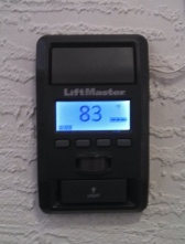 Delightful Liftmaster Garage Door Opener 3 Button Wall Panel