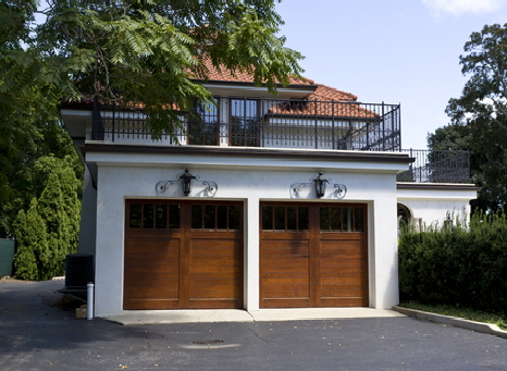 Two Single Car Garage Doors With Windows & Garage Door Sales